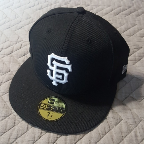 timeless design 39b7c 8d0ea New Era 59FIFTY SF San Francisco Giants hat 7 1 8